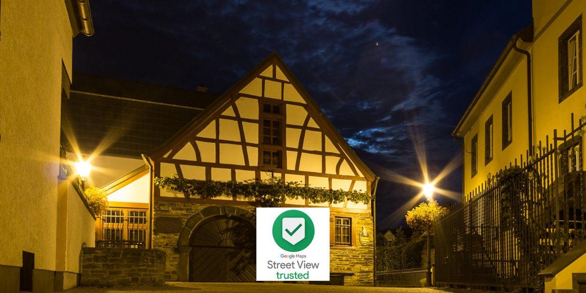 Haus der Schuetzen Ahrweiler Google Street View Tour von Ahrtal360 @ Michael Lentz 2019-03-25